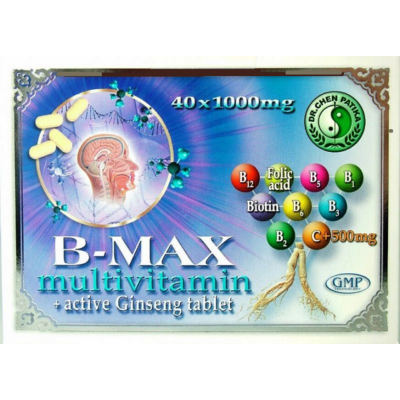 B-MAX multivitamin+ active Ginseng tablet