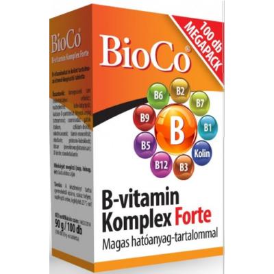 B-vitamin Komplex Forte (Magas hatóanyag-tartalommal)