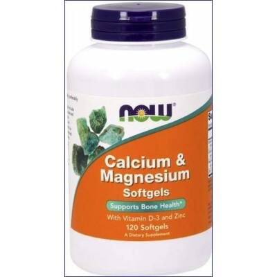 Kálcium, Magnézium, Cink, D3  tabletta_120 db
