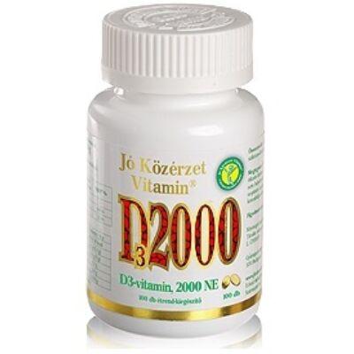 D3-vitamin, 2000 NE