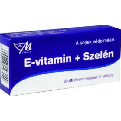 E-vitamin + Szelén