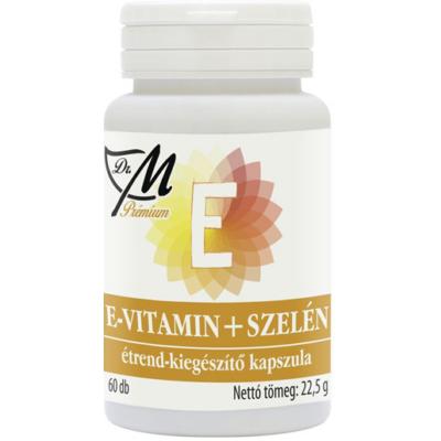 E-vitamin + Szelén kapszula