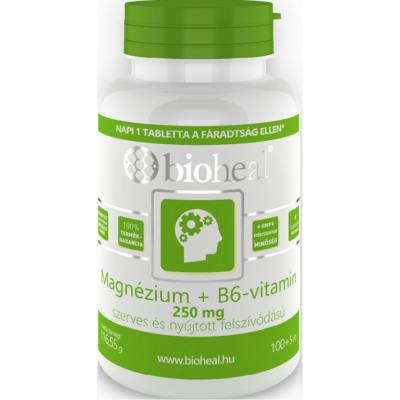 Magnézium+B6 vitamin tabletta