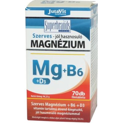 Magnézium+B6+D3 tabletta