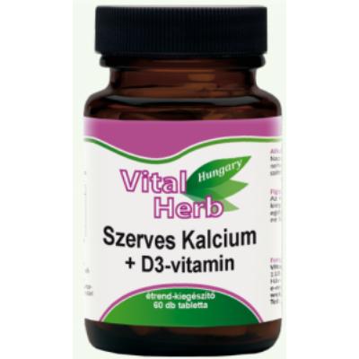 Szerves kálcium + D3-vitaminnal