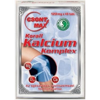 Csont Max_Korall Kalcium