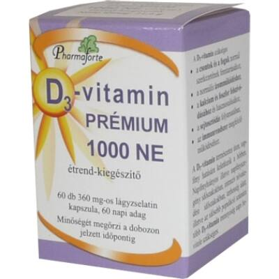 D3-vitamin prémium 1000 NE