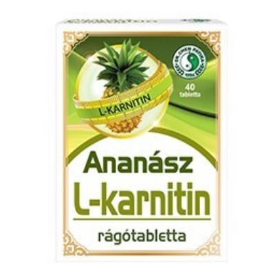 Ananász L-karnitinnel rágótabletta