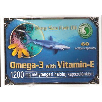 Omega 3 Halolaj + E-vitamin kapszula