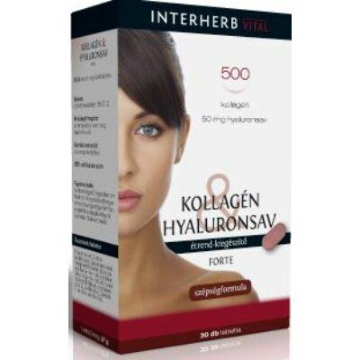 Kollagén Hyaluronsav Forte 30 db tabletta