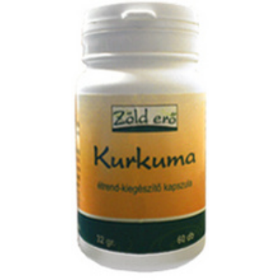 Kurkuma kapszula - Zölderő