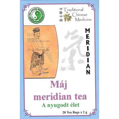 Májmeridián tea