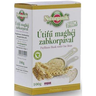 Útifű maghéj zabkorpával (Psyllium Husk with Oat Bran)-Naturganik