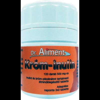 Króm-inulin tabletta