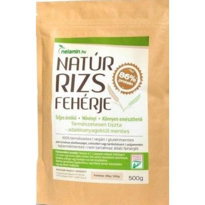 Natúr rizs fehérje  500 g