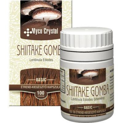 Shiitake  -Myco Crystal- 100 db kapszula