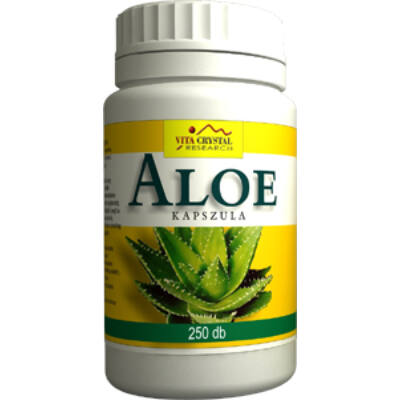 Aloe kapszula - 250 db