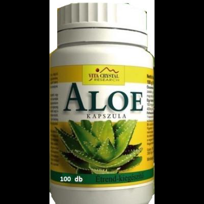 Aloe kapszula - 100 db