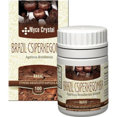 Brazil csiperkegomba -Myco Chrystal- kapszula_100 db