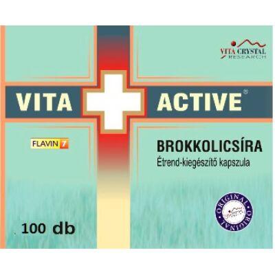 Brokkolicsíra kapszula - Vita+Active