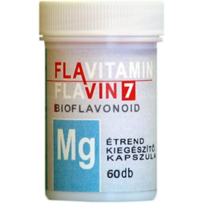 Magnézium kapszula-Bioflavonoid, 60 d
