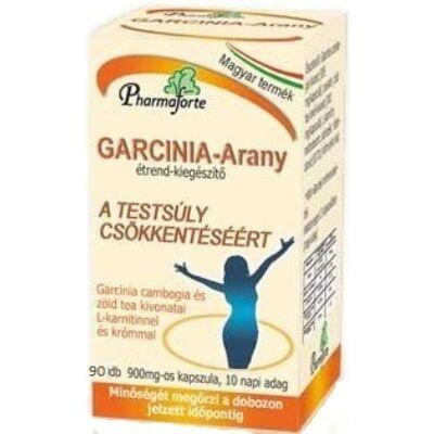 Garcinia-Arany Testsúly csökkentő étrendkiegészítő - 90 db