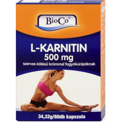 L-Karnitin, szerves kötésű krómmal