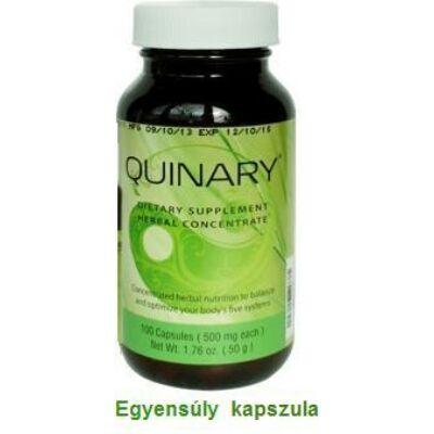 Egyensúly megteremtője kapszula - Quinary - 100 db