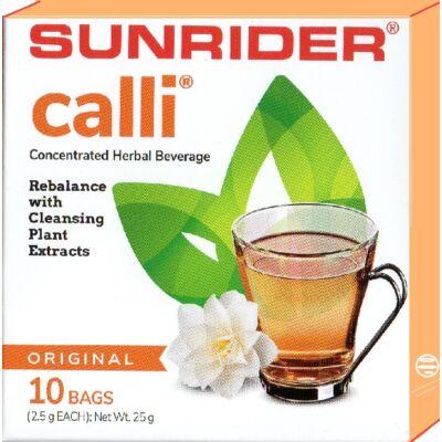 Méregtelenítő-Calli tea-akupunktúra tűk nélkül - natur, 10 db/doboz