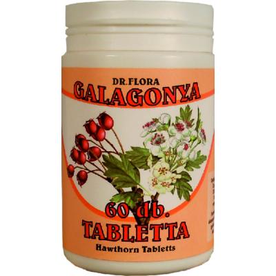Galagonya tabletta