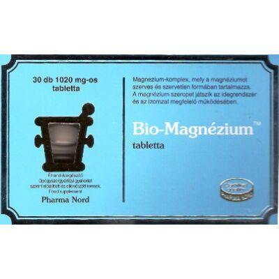 Magnézium - Bio  tabletta - 30 db